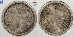World Coins - JAPAN: Yr. 11 (1922) 50 Sen