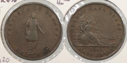 World Coins - CANADA: Lower Canada 1852 Halfpenny Token