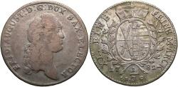 World Coins - GERMAN STATES: Saxony 1782 1/3 Thaler