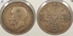 World Coins - GREAT BRITAIN: 1912 George V Florin