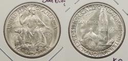 Us Coins - 1936 D San Diego Commemorative 50 Cents (Half Dollar)