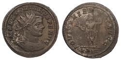 Ancient Coins - Maximianus First Reign 286-305 A.D. Antoninianus Rome Mint Good VF