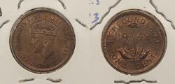 World Coins - CANADA: Newfoundland 1942 George VI Cent
