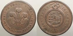 World Coins - GREAT BRITAIN: Bristol & South Wales 1811 Penny Token