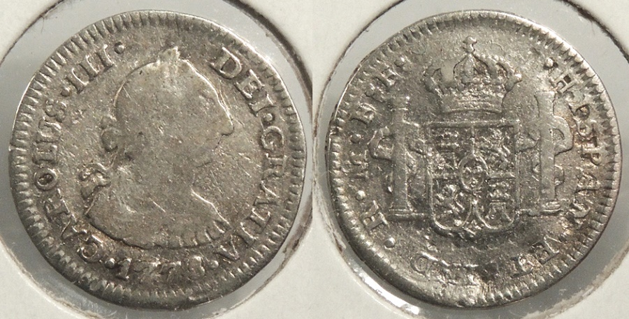 World Coins - MEXICO: 1778-Mo FF 1/2 Real #WC63388