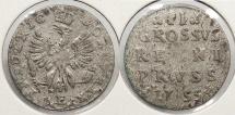 World Coins - GERMAN STATES: Prussia 1755-E 2 Groscher