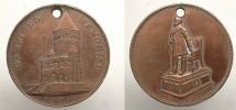 Cleveland, OH James Garfield Circa 1885 AE So Called Dollar EF