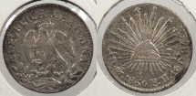 World Coins - MEXICO: 1860-Mo FH/GC 1/2 Real