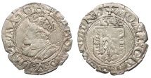 World Coins - FRANCE Besançon Charles V, as Holy Roman Emperor 1530-1556 Blanc 1548 Good VF