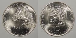 World Coins - CZECHOSLOVAKIA: 1968 10 Korun
