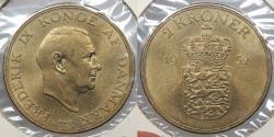 World Coins - DENMARK: 1952 2 Kroner