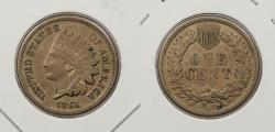 Us Coins - 1861 Indian Head 1 Cent