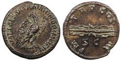 Ancient Coins - Hadrian 117-138 A.D. Quadrans Rome Mint Choice EF