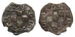 World Coins - SPAIN Catalonia (Catalunya) County of Urgell Teresa de Entenca 1314-1328 Bracteate Pugesa Choice EF
