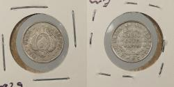 World Coins - BOLIVIA: 1881-PTS FE 5 Centavos
