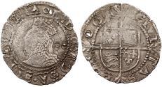 World Coins - ENGLAND Elizabeth I ND (1600) Halfgroat (2 Pence) VF