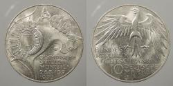 World Coins - GERMANY (WEST): 1972-J Olympics 10 Marks