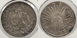 World Coins - MEXICO: 1860-Mo FH/GC 1/2 Real