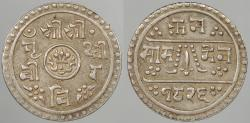 World Coins - NEPAL: SE 1826 (1904) 1/2 Mohar
