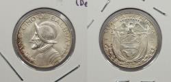 World Coins - PANAMA: 1947 1/10 Balboa (Decimo)