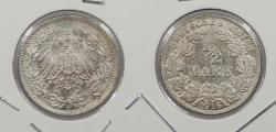 World Coins - GERMANY: 1916-A 1/2 Mark