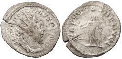 Ancient Coins - Postumus 259-268 A.D. Antoninianus Lugdunum Mint Near VF