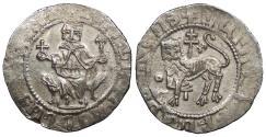 World Coins - ARMENIA Levon I, as King 1198-1219 Double Tram EF