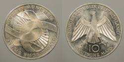 World Coins - GERMANY (WEST): 1972-J 10 Mark