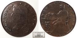 Us Coins - 1787 Auctori Plebis Copper Colonial Coinage NGC AU-53