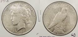 Us Coins - 1927 S Peace 1 Dollar (Silver)
