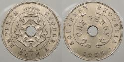 World Coins - SOUTHERN RHODESIA: 1935 Penny