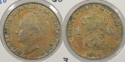 World Coins - CURACAO (CURAÇAO): 1944-D Gulden