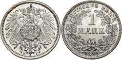 World Coins - GERMANY: 1915 E 1 Mark