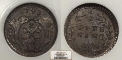 World Coins - GERMAN STATES Regensburg Free City 1793-R Pfenning NGC MS-66