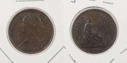 World Coins - GREAT BRITAIN: 1866 Farthing