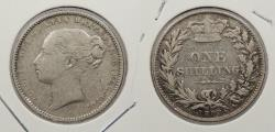 World Coins - GREAT BRITAIN: 1883 Victoria. Shilling