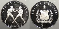 World Coins - SAMOA: 1974 Tala
