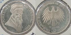World Coins - GERMANY: West Germany (Federal Republic) 1968-G 5 Mark