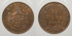World Coins - ROMANIA: 1867-W 10 Bani