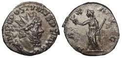 Ancient Coins - Postumus 259-268 A.D. Antoninianus Cologne Mint EF