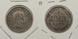 World Coins - GERMAN STATES: Prussia 1873-A Silber Groschen