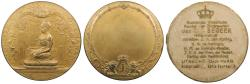 World Coins - NETHERLANDS EAST INDIES Java Semarang Utrecht By J.C. Wienecke 1914 Gilt AE 59mm Medal UNC