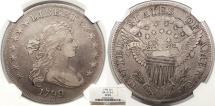 Us Coins - 1799 Draped Bust 1 Dollar (Silver) BB-157; B-5 NGC VF-35