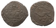 World Coins - SPAIN Castille & Leon Ferdinand & Isabella 1469-1504-+ + R G 2 Maravedis VF