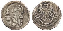 World Coins - GERMAN STATES Silesia (Schlesien) Liegnitz-Brieg (Legnica-Brzeg) Ludwig II 1399-1435 Heller (Halerz) VF