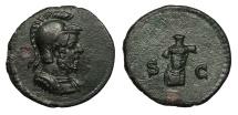 Ancient Coins - Anonymous 81-161 A.D. Quadrans Rome Mint Choice EF