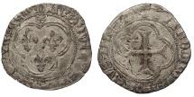 World Coins - FRANCE   Louis XI 1461-1483 Blanc au Soleil  Near EF