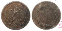 World Coins - MEXICO: 1935-M 10 Centavos