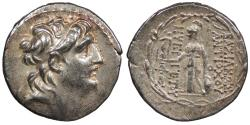 Ancient Coins - Seleukid Kings Antiochos VII 138-129 B.C. Tetradrachm VF