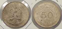 World Coins - MEXICO: 1937-M 50 Centavos